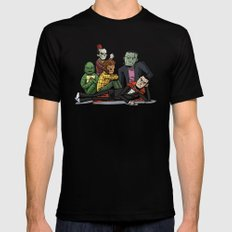 The Universal Monster Club Mens Fitted Tee X-LARGE Black