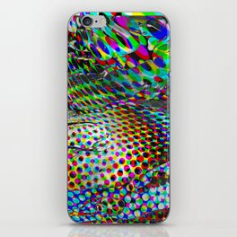 Once upon a halftone iPhone Skin