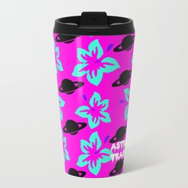 Astro Hibiscus Metal Travel Mug