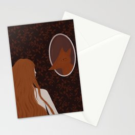 Fox Girl Stationery Cards