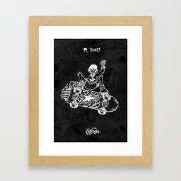 Boney Skateboarding series - 02 Framed Art Print
