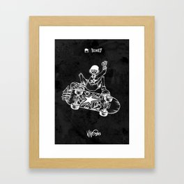 Boney Skateboarding series - 02 Framed Art Print