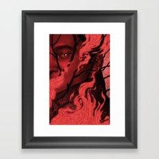 Byronic V Framed Art Print
