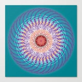Calm Mandala - מנדלה רוגע Canvas Print