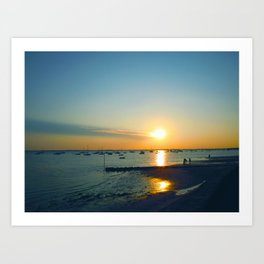 Andernos Sunset Art Print