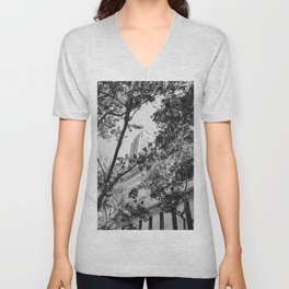 New York Library Unisex V-Neck