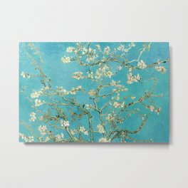 Van Gogh Almond Blossoms Painting Metal Print