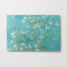 Van Gogh Almond Blossoms Painting Metal Print