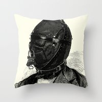 bdsm Throw Pillows featuring BDSM XI by DIVIDUS