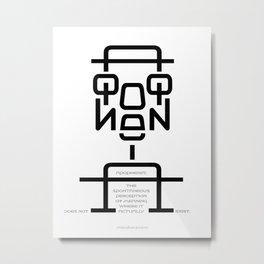 Apophenia Metal Print