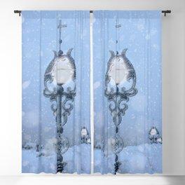 Christmas Light Blackout Curtain