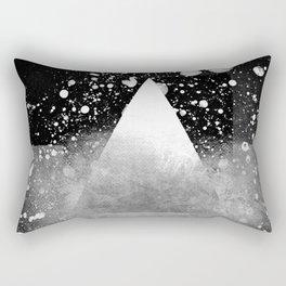 Triangle Composition IV Rectangular Pillow