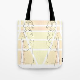Yellow Thoughts Tote Bag