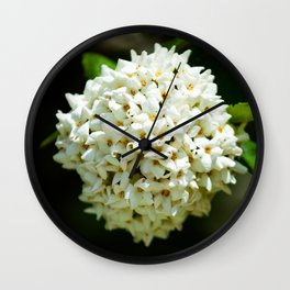 Bouquet of blossom Wall Clock