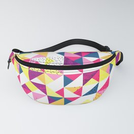 Bright Geometric Revive Funky Fanny Pack