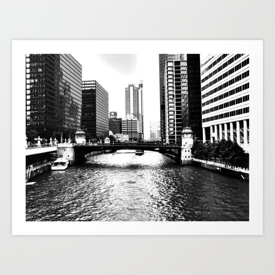 Waterway Art Print