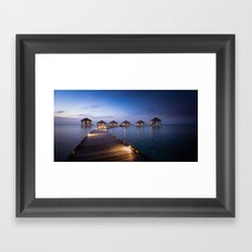 honeymooners paradise Framed Art Print