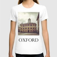 theater T-shirts featuring Oxford: Sheldonian Theater by Solar Designs