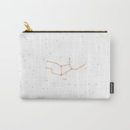 Virgo Star Constellation Carry-All Pouch