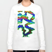 northern lights Long Sleeve T-shirts featuring Northern Lights Inverted by Carrollskitchen on youtube