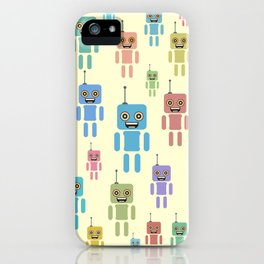 Robotic brothers iPhone Case