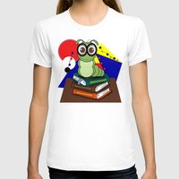 bookworm T-shirts featuring Bookworm 2 by Charles Oliver