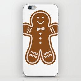 Gingerbread Hugs iPhone Skin