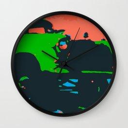 Chevy Gasser Wall Clock
