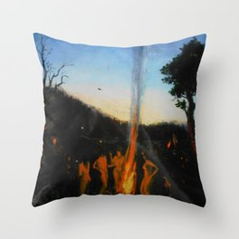 Summer Sabbath Throw Pillow