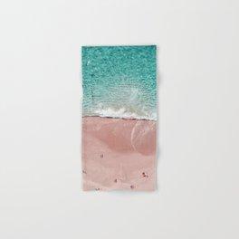 Pink Vacation Hand & Bath Towel