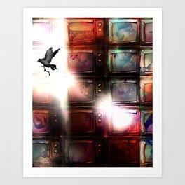 Breakthrough Art Print