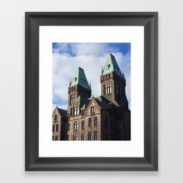 richardson towers. Framed Art Print
