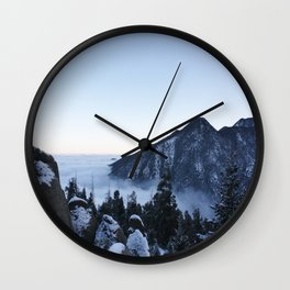 Above the Clouds Wall Clock