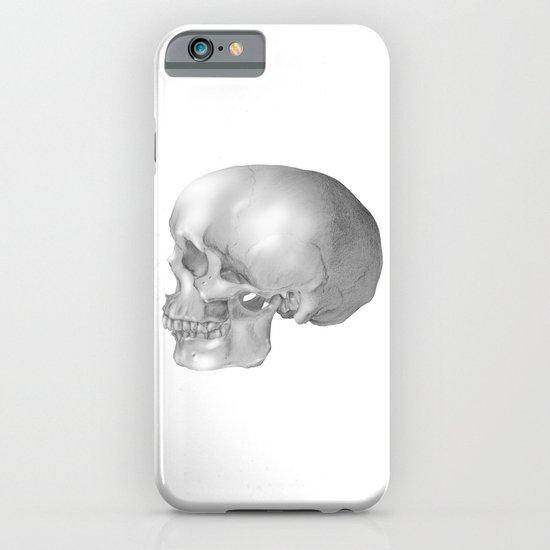 Human Skull iPhone & iPod Case