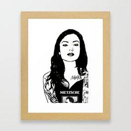 Punk'd Carmilla (Carmilla Series) Framed Art Print