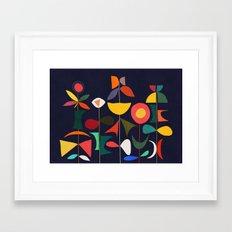 Klee's Garden Framed Art Print