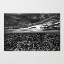 rapture, meet urbania Canvas Print