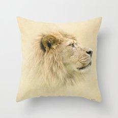 Lion II Throw Pillow
