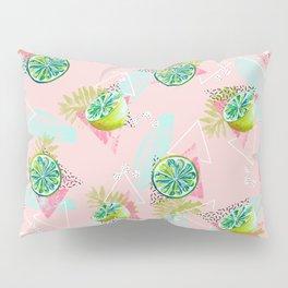 Tropical lemons party Pillow Sham
