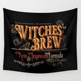 Witches Brew Wall Tapestry