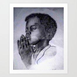 Let Us Pray Art Print