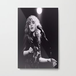 Stevie Nicks Moon and star stevie nicks Poster, stevie nicks Tshirt Metal Print