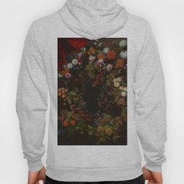 """Johnny van Haeften """"A garland of flowers and fruit"""" Hoody"""