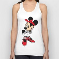 minnie mouse Tank Tops featuring MINNIE MOUSE AJ4 by EA88