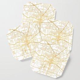 TALLAHASSEE FLORIDA CITY STREET MAP ART Coaster