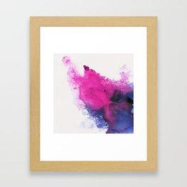 Watercolour splash Framed Art Print