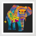 Whimsical Elephant II by pomgraphicdesign