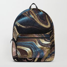 Liquid Gold Marble Backpack