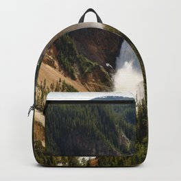 Majestic Upper Falls - Yellowstone Valley Backpack