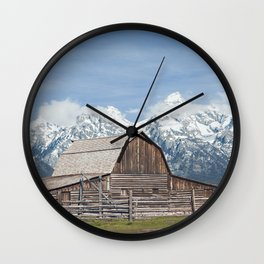 Jackson Row Wall Clock